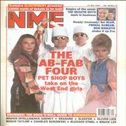Click here for more info about 'Pet Shop Boys - 2 x Melody Maker + 2 x NME'