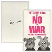 Click here for more info about 'Pet Shop Boys - 2005 Rabbit Christmas Card'