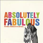 Click here for more info about 'Pet Shop Boys - Absolutely Fabulous - Withdrawn'