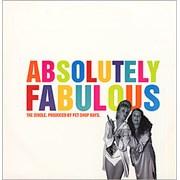 """Pet Shop Boys Absolutely Fabulous UK 12"""" vinyl"""
