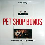 Click here for more info about 'Pet Shop Boys - Actually + Always On My Mind'
