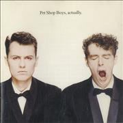 Click here for more info about 'Pet Shop Boys - Actually'