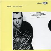 Click here for more info about 'Pet Shop Boys - Before - 3-track Enhanced'