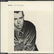 Click here for more info about 'Pet Shop Boys - Before'