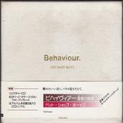 Click here for more info about 'Pet Shop Boys - Behaviour + 3