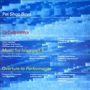 Click here for more info about 'Pet Shop Boys - DJ Culturemix'