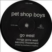 Click here for more info about 'Pet Shop Boys - Go West - 1st DJ Issue'