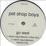 Click here for more info about 'Pet Shop Boys - Go West - 2nd DJ issue'