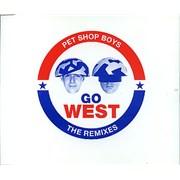 Pet Shop Boys Go West - The Remixes Netherlands CD single