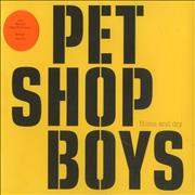 Click here for more info about 'Pet Shop Boys - Home And Dry - Stickered case'