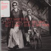 Click here for more info about 'Pet Shop Boys - I Don't Know What You Want - CD1'