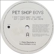 Click here for more info about 'Pet Shop Boys - I Don't Know What You Want But I Can't Give It Any More'