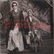 Click here for more info about 'Pet Shop Boys - I Don't Know What You Want... CD 1 & 2'