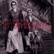 Click here for more info about 'Pet Shop Boys - I Don't Know What You Want'