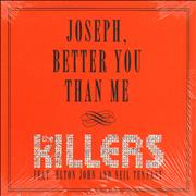 Click here for more info about 'The Killers - Joseph, Better You Than Me - Sealed'