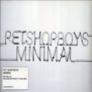 Click here for more info about 'Pet Shop Boys - Minimal'