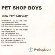 Click here for more info about 'Pet Shop Boys - New York City Boy - 7 Mixes'