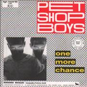 Click here for more info about 'Pet Shop Boys - One More Chance - 1st'
