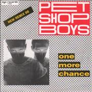 Click here for more info about 'Pet Shop Boys - One More Chance - New Remix 86'