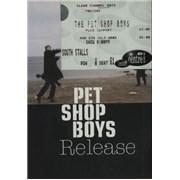 Pet Shop Boys Release + ticket stub UK tour programme