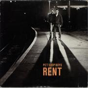 Pet Shop Boys Rent UK CD single