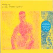 Click here for more info about 'Pet Shop Boys - Se A Vida E [That's The Way Life Is] - CD 1'