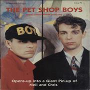 Click here for more info about 'Pet Shop Boys - Special Edition Poster Magazine'
