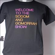Click here for more info about 'Pet Shop Boys - Welcome To The Sodom And Gomorrah Show T-Shirt [M]'