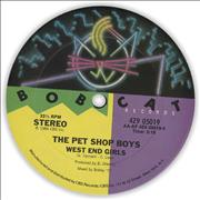 Click here for more info about 'West End Girls - Bobcat Label'