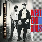 Click here for more info about 'Pet Shop Boys - West End Girls - injection label'