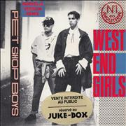 Click here for more info about 'Pet Shop Boys - West End Girls - Juke Box Sticker'