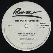 Click here for more info about 'West End Girls - Original'