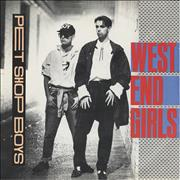 Click here for more info about 'Pet Shop Boys - West End Girls - Paper picture sleeve'