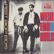 Click here for more info about 'Pet Shop Boys - West End Girls 'Las Chicas Del West End' + PR'