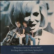 Pet Shop Boys What Have I Done To Deserve This - EX UK CD single