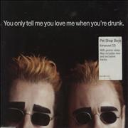 Click here for more info about 'Pet Shop Boys - You Only Tell Me You Love Me When You're Drunk - CD1'