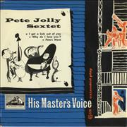 Click here for more info about 'Pete Jolly - The Pete Jolly Sextet EP'