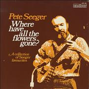 Click here for more info about 'Pete Seeger - Where Have All The Flowers Gone'