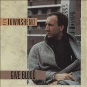 Click here for more info about 'Pete Townshend - Give Blood'