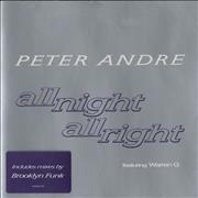 Click here for more info about 'Peter Andre - All Night All Right'