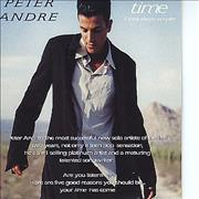 Click here for more info about 'Peter Andre - Time - 5-track Sampler'