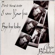 Click here for more info about 'Peter Blakeley - First Time Ever I Saw Your Face'