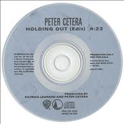 Click here for more info about 'Peter Cetera - Holding Out'
