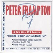 Click here for more info about 'Peter Frampton - Live In Detroit - DVD Sampler'