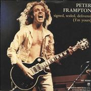 Click here for more info about 'Peter Frampton - Signed, Sealed, Delivered (I'm Yours)'