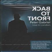 Click here for more info about 'Peter Gabriel - Back To Front (Live in London) - Sealed'