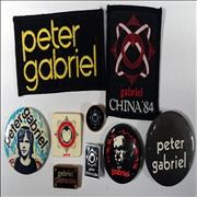 Click here for more info about 'Peter Gabriel - Badges'