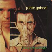 Click here for more info about 'Peter Gabriel - I Don't Remember'