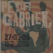 Click here for more info about 'Peter Gabriel - Live 2009 - 27.03.09 Distrito Federal Mexico'