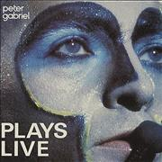Click here for more info about 'Peter Gabriel - Plays Live'